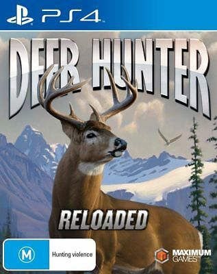 Deer Hunter Reloaded PS4 Playstation 4 Game Brand New In Stock From Brisbane