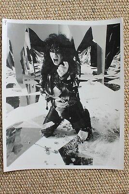 Motley Crue Mick Mars Original Theatre Of Pain Promo Album Photograph 1985 1986