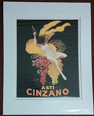 Asti Cinzano Leonetto Cappiello Litho Art by Portal Publications 11 x 14 Matte