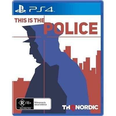 This is The Police PS4 Playstation 4 Brand New In Stock From Brisbane