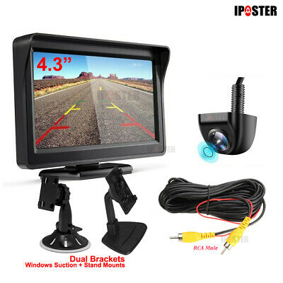 170° WiFi Wireless Car Rear View Camera Backup Reversing For iPhone Android