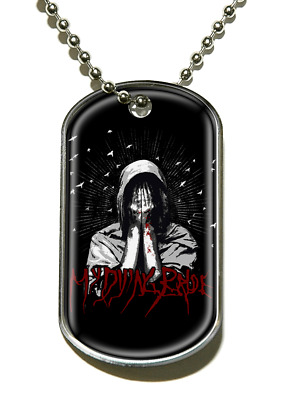 My Dying Bride My Body Funeral Dog Tag Pendant Necklace Official Band Merch New