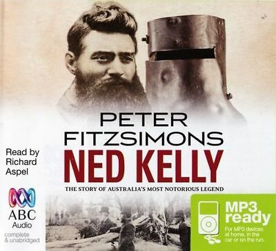 Peter FITZSIMONS / NED KELLY       [ Audiobook ]