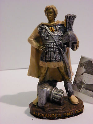 Alexander The Great 4.73'' Figurine Statue Historic Collectible Decorative
