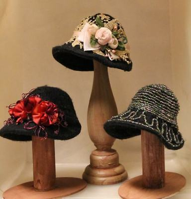 """*new* Craft Pattern """"ladies Afternoon Hats"""" By Sylvia Schorr - Circa 1918 - 1920"""