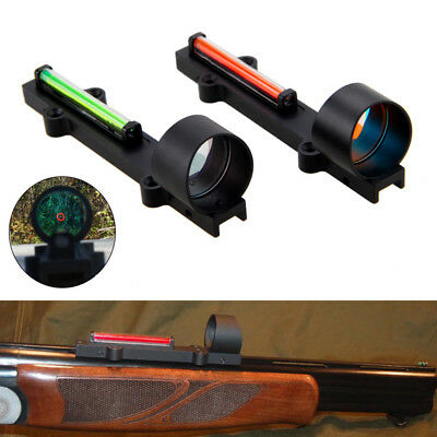Holographic Sight Red Point Dot Sight Scope For Shotgun Rib Rail Hunting