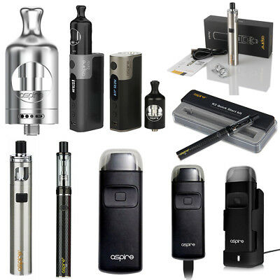 50W Original Aspire Zelos PockeX K2 Quick Breeze Starter Kit 2ml Nautilus 2 Tank