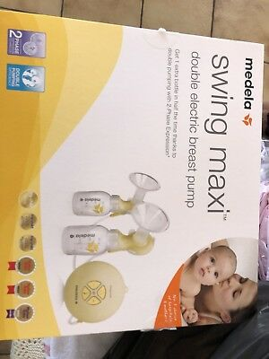 Medela Swing Maxi Double Electric Breast Pump RRP $399