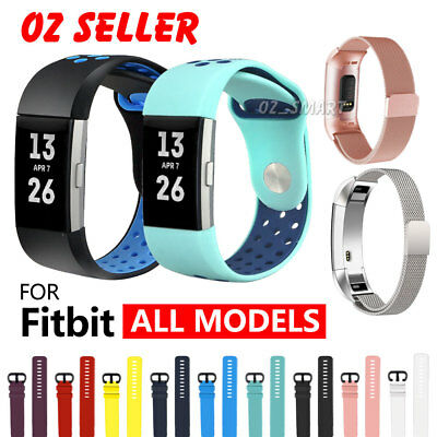 Various Replacement Wristband Bracelet Fitbit Versa Ionic Charge 3 2 Alta HR