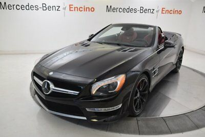 SL-Class AMG SL 63 2016 Mercedes-Benz SL63 AMG, Certified, Carbon Fiber Trim, Distronic, Blind Spot
