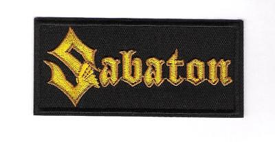 patch embroidered / écusson thermocollant Sabaton
