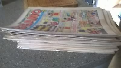 51 Beano comics from 1976..Including Christmas Issue