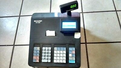 Sharp Xe-A23S Electronic Pos Retail Store Cash Register ~ Great