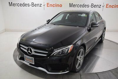 C-Class -- 2015 Mercedes-Benz C300 4MATIC Sport, Certified, LED, Burmester, Loaded!