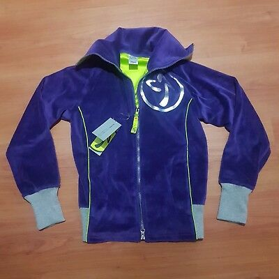 Zumba Jacket Fitness Wear Zweety Valour Track (Womens XS)