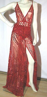 BNWT Ladies 6  ALAMOUR Formal Prom Lace Dress Cocktail Wedding Party ($330) L7