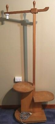 Antique Bell Brothers Lampshade Stand