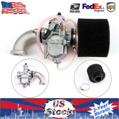 Carburetor 26mm VM22+38mm Air Filter Intake Fit For 110 125 140 cc Pit Dirt Bike
