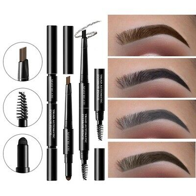 3 In 1 Duraturo Sopracciglia Eye Brow Set Waterproof Matita + polvere + pennello