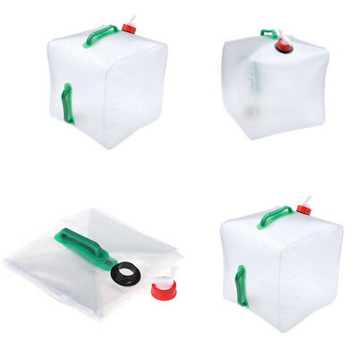 Collapsible Water Container 10/20L Litre Plastic Storage Carrier Hiking Camp KU