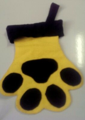 Dog / Cat Paw Christmas Stocking,   Pick your Color *