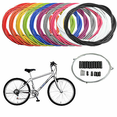 Jagwire Complete set Brake+Gear Front Rear inner outer Universal MTB Bike Cables