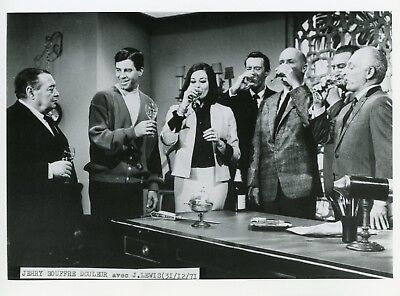 """Jerry Lewis Peter Lorre Ina Balin """"Jerry Souffre-Douleur"""" (""""The Patsy"""") Photo Cm"""