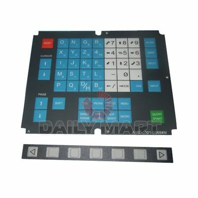 NEW FANUC A98L-0001-0568#M Membrane Keysheet Keypad Keyboard 54 keys, FREE SHIP