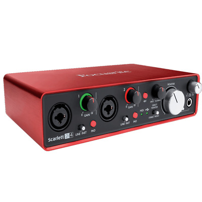FOCUSRITE SCARLETT2 2I4 - Interface audio 2 In / 4 Out