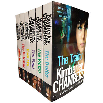 Kimberley Chambers Collection 6 Books Set Billie Jo Traitor Victim Betrayer PACK