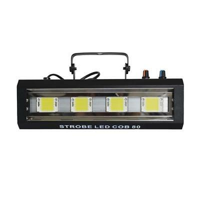 POWER LIGHTING STROBE LED COB 80 - Stroboscope led cob 4 x 20 watts led blanches