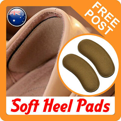Shoe Heel Pads Liners Inserts Cushion Grip Padding - AUS STOCK, FAST POST **