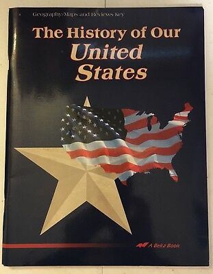 Abeka the history of our united states geographymaps and review abeka the history of our united states geographymaps and review key 4th fandeluxe Image collections