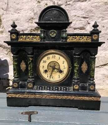 Wooden Mantle Clock Made in Germany Spares Repairs