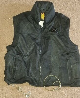 Impact Jackets Motorcycle Airbag Vest - Ventilated mesh. Size XXL