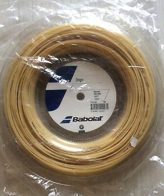 Brand New & Genuine Babolat Origin Tennis String (17/1.25mm) 200m Reel