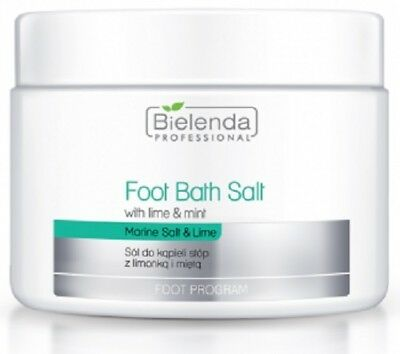 Bielenda Professional Foot Bath Salt With Lime and Mint 600g