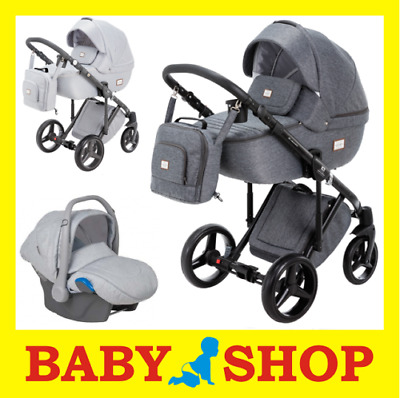 ADAMEX Luciano 3in1 2018 Stroller Pushchair Sport seat FREE SHIPPING
