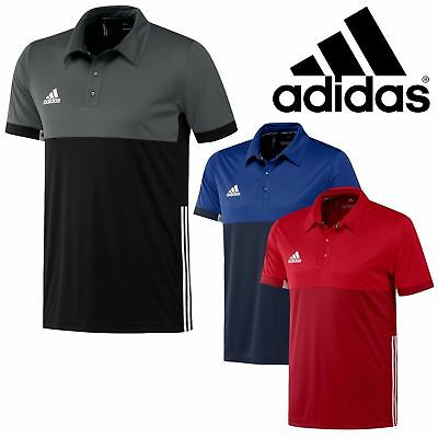 Adidas Polo Shirt Mens T16 Sports Climacool Gym Running Male T-Shirt Top