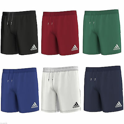 New Adidas 3s Teamwear Mens Rugby Training Shorts Clima Cool rrp £30