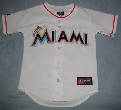 af4974eba MIAMI MARLINS KIDS White Home Majestic Jersey Boys S Youth -  24.99 ...