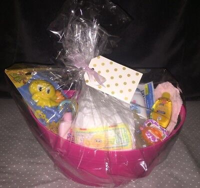 Baby Shower Diaper Changing Gift Basket