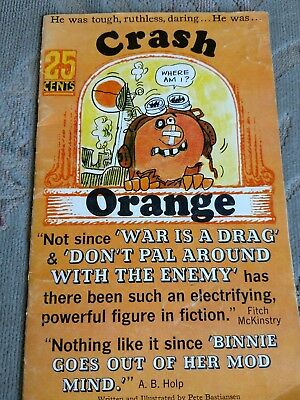 Pillsbury Crash Orange Comic Book Vintage 1967 Pete Bastiansen