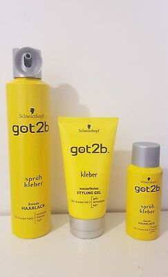 Got2b 🎁⭐Pack 4 en 1: Gel + Spray + Mini Spray + Tote Bag⭐ 🎁