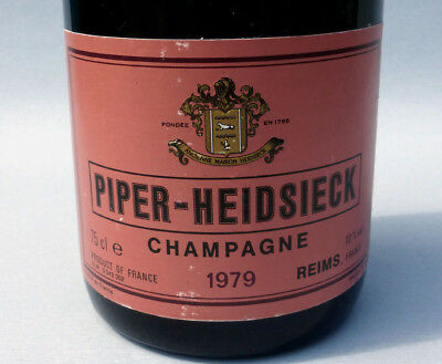 38 Jahre alter_______PIPER - HEIDSIECK_______Rose Champagner 1979