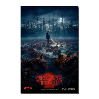 83353 Stranger Things 2 TV Series Picture Decor WALL PRINT POSTER UK