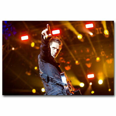 83093 MUSE Hot Music Band Decor WALL PRINT POSTER UK