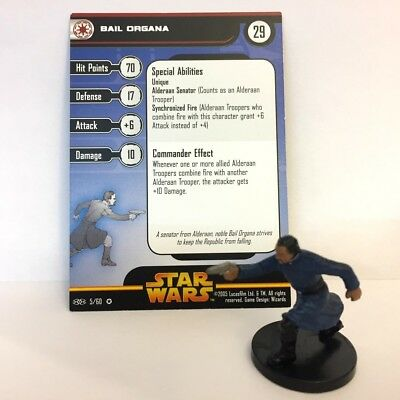 Star Wars Revenge of the Sith #5 Bail Organa (VR) Miniature