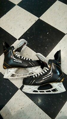 Pro Stock Bauer Supreme Totalone NXG APX hockey skates size 8.5 with steel
