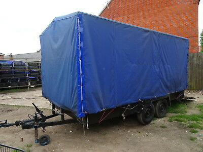Bradley Exhibition Trailer Mobile Shop Twin Axle Show Stand Market Stall Display